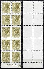 #2050 - Repubblica - 50 lire Siracusana, 1964 - Nuovi (** MNH) / Varietà