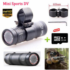 X38 Mini Sport Action Camera Helmet DV Hd1080p Hunting Video Cam 16gb Gun Clip