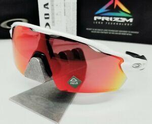 "OAKLEY polished white ""PRIZM FIELD"" RADAR EV PITCH OO9211-04 sunglasses NEW!"