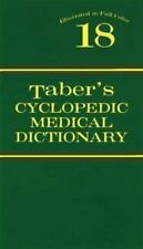 Taber's Cyclopedic Medical Dictionary: Taber's Cyclopedic Medical Dictionary...