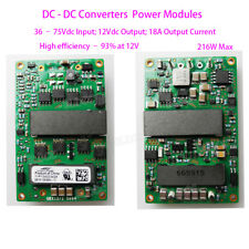QBW018A0B 18A DC-DC Converter Isolated Power Module Input DC 36-75V Output DC12V
