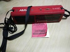 Vintage Portable radio receiver Abava RP-8330 LW and MW 1980s Soviet  USSR
