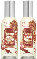 Bath & Body Works Spiced Gingerbread Concentrated Room Spray X2