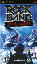 Rock Band Unplugged PSP New Sony PSP