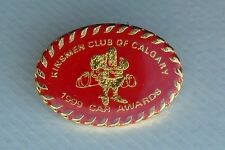 Kinsmen Club of Calgary 1999 Car Awards Lapel Hat Souvenir Pin