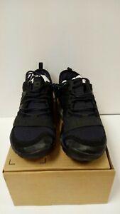 New Balance Men's Minimus 10 v1 Trail Running Shoe, Black/Silver, 11 W US NWT