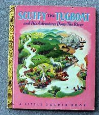 1946 SCUFFY THE TUGBOAT Gertrude Crampton TIBOR GERGELY Little Golden Book KIDS