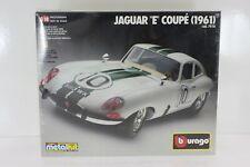 BBURAGO DIE-CAST METAL KIT 1/18 KIT JAGUAR E COUPÈ 1961 BURAGO 7018
