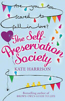 The Self-Preservation Society, Kate Harrison | Paperback Book | Good | 978075288