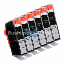 6 BLACK 564 564XL New Ink Cartridge for HP PhotoSmart 7525 B210 C310 C410 C6340