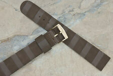 Old stock 1970s Corfam vintage Bulova Accutron band 11/16 inches Bulova buckle
