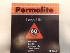 L3096 Permalite Yellow Ceranic Bug-lite 60 Watt Light Bulb Box of 2