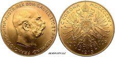 CH/GEM BU GOLD AUSTRIAN / HUNGARIAN 100 CORONA RANDOM DATE AGW .9802 OZ. GOLD