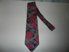 JoS. A. Bank Premier Collection Blue Floral Neck Tie EUC