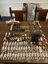 Star Wars Huge Lot 116 Figures 3 Ships With Weapons And  Accessories 1996-2006
