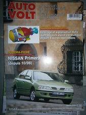Nissan PRIMERA 1.6 depuis 1996 : Revue technique Autovolt 765