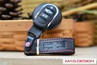 Leather Key Ring for 2007 to 2013 MINI Cooper S R55 to R61 Paceman JCW GP SD