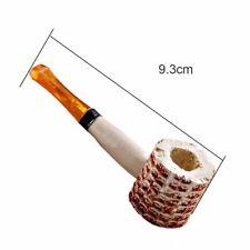 Natural Corn Cob Smoking Tobacco Pipe Enchase Cigarettes Cigar Pipes Wood Handle