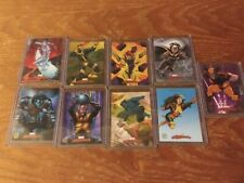 2007 Marvel Masterpieces X-Men Subset complete 9 card set Skybox Upper Deck