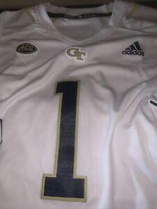 NEW #1 Georgia Tech Yellow Jackets adidas Football GT Jersey XXL 2XL