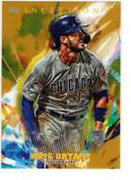 Kris Bryant 2020 Topps Inception 5x7 Gold #19 /10 Cubs