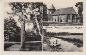 Carte Postale Basse-Saxe Fatigué Oertze Lüneburger Bruyère 3