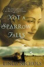 Not a Sparrow Falls by Linda Nichols (2002, Paperback) Large Print Edition Book