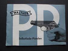 Bedienungsanleitung Pistole PP  PPK  Walther