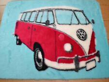 VW Pink Camper Van Girls Boys Rugs Fluffy Furry Kids Bedroom Floor Mats Cheap