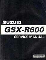 SUZUKI GSX-R600,GSXR600 K1,K2 2001,2002 FACTORY WORKSHOP MANUAL