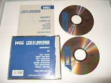 Lucia Di Lammermoor Donizetti 8 january 1944-2 cd front inlay slightly cut short