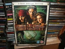 Pirates Of The Caribbean - Dead Man's Chest (DVD, 2006) 2 DISC SPECIAL EDITION