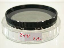 Nikon filtro Polarizzatore Lens polarizing Polarizer lineare 52mm 52 e52 fil1442