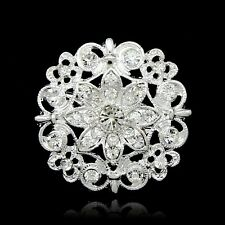 Hot Selling Women Brooch Jewellery Rhinestones Crystals Diamonds Brooches Pins