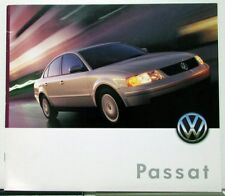 2000 VW Volkswagen Passat GLS GLS V6 GLX Sales Brochure Oversized Original