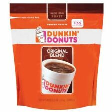 2 Pack Dunkin Donuts Ground Coffee - 40 oz. each NEW