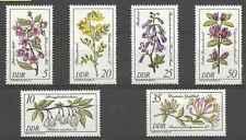 Timbres Flore Orchidées Allemagne RDA 2230/5 ** lot 16543