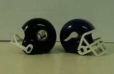 NFL Mini Small Gumball OPI Football Plastic Toy Helmets Lot of (2)  AUCT#3729