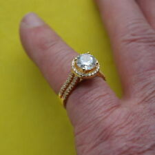 Silver Plated Topaz Fine Rings