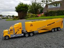 Große American Truck LKW 49cml Funkfernbedienung Auto LED Scheinwerfer-Gelb