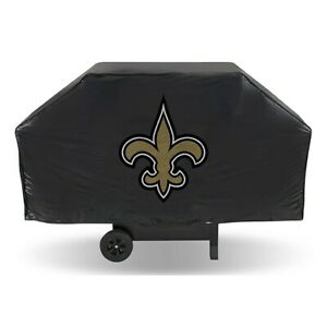 """NEW ORLEANS SAINTS ECONOMY GRILL COVER DURABLE VINYL 68"""" BBQ COVER"""