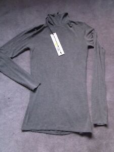 Gareth Pugh Grey Roll Neck Top XS New With Tags