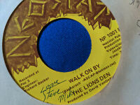 The Lions Den 45 Walk on By/We'll Just Fall Rare Detroit Sweet Soul Signed VG++