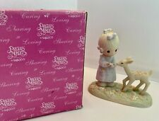 """Precious Moments """"To My Deer Friend"""" 100048/1986 Retired/ Mint Condition/ Nib"""