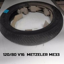 PNEUMATICO TYRE 120 80 16 120/80 V 16 120-80/16 METZELER LASER ME33