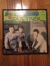 William Shatner Star Trek 1979 Book & Record Set autograph signed auto framed