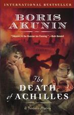 The Death of Achilles: A Novel (Erast Fandorin) Akunin, Boris Paperback