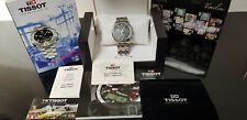 Tissot Chronograph St.Steel Gents Watch with Sapphire Crystal in Tissot Box.