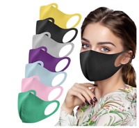 X4 Childrens Kids Face Mask Mouth Protection Cover Washable Reusable Unisex