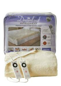 Dreamland Intelliheat 16298 Fitted Electric Underblanket Soft Fleece King Size